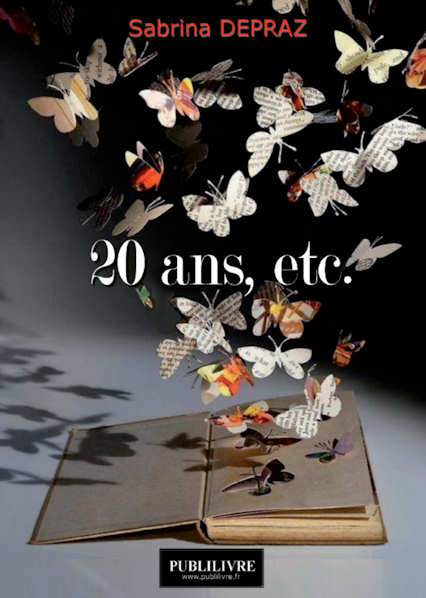 Photo recto du livre:20 ans... par Sabrina Depraz